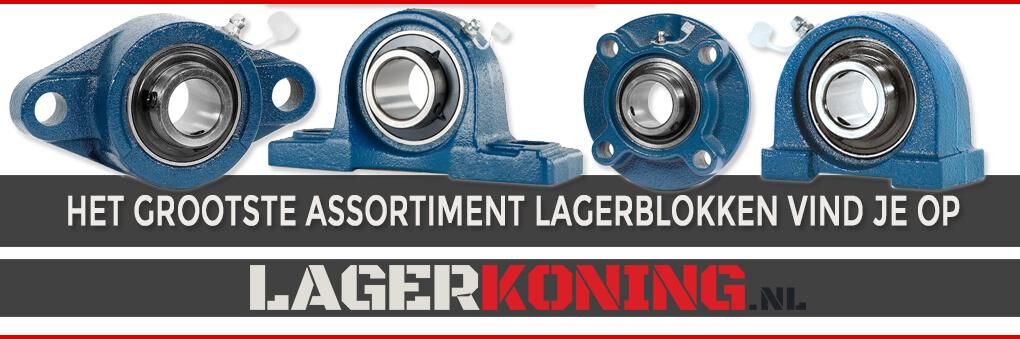 Het grootste assortiment lagerblokken vind je op lagerkoning.nl